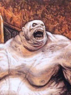 Gluttonous Zombie MtG card. Image: Wizards of the Coast. Artist: Thomas M. Baxa.
