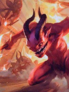 MtG Havoc Devils Trample example card