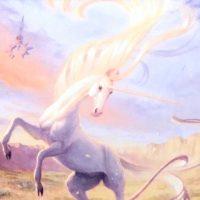 mtg mesa unicorn lifelink example