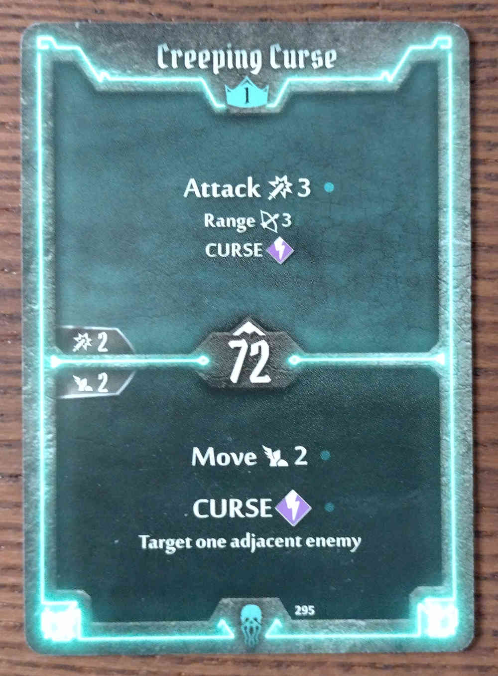 Level 1 Plagueherald card Creeping Curse