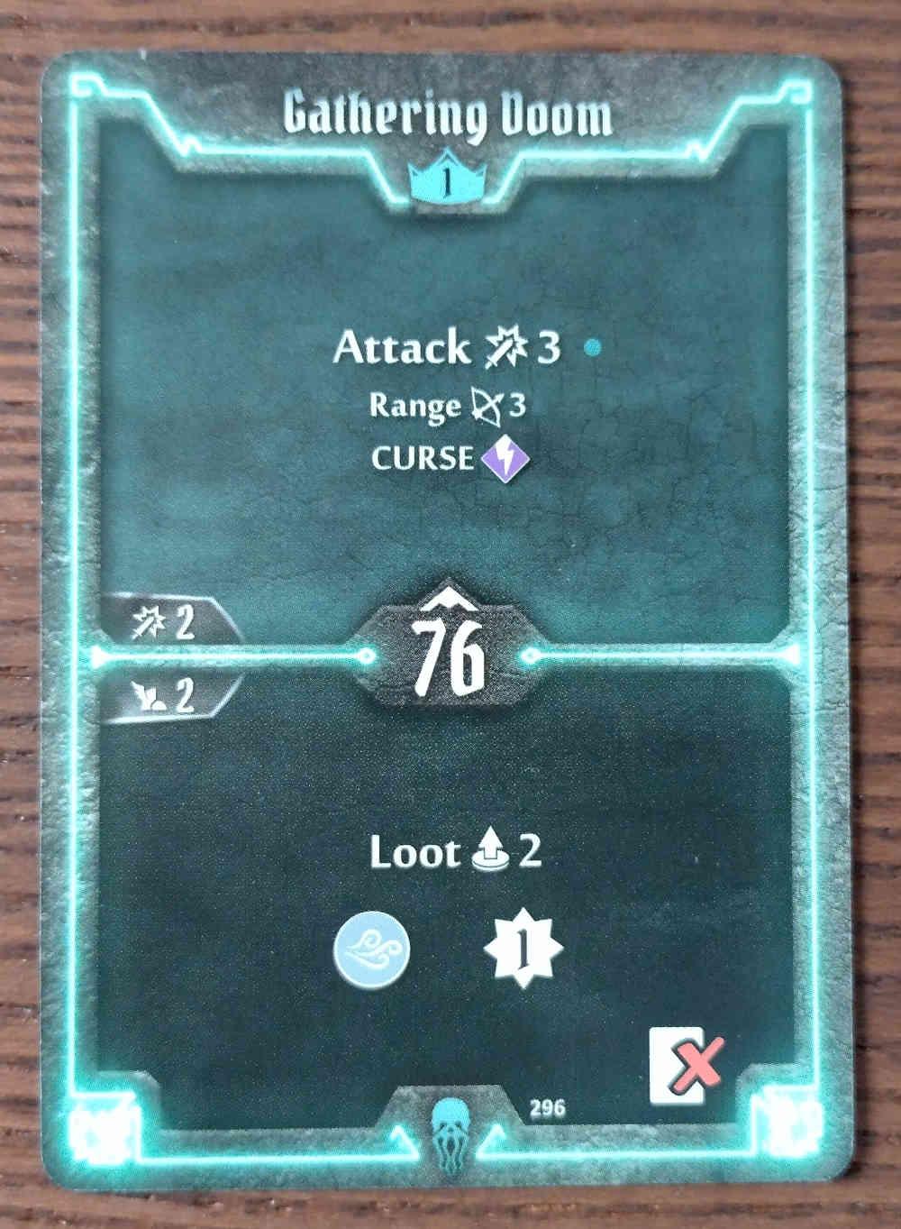 Level 1 Plagueherald card Gathering Doom