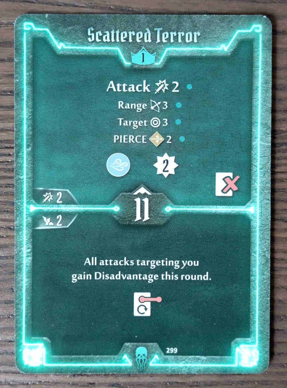 Level 1 Plagueherald card Scattered Terror