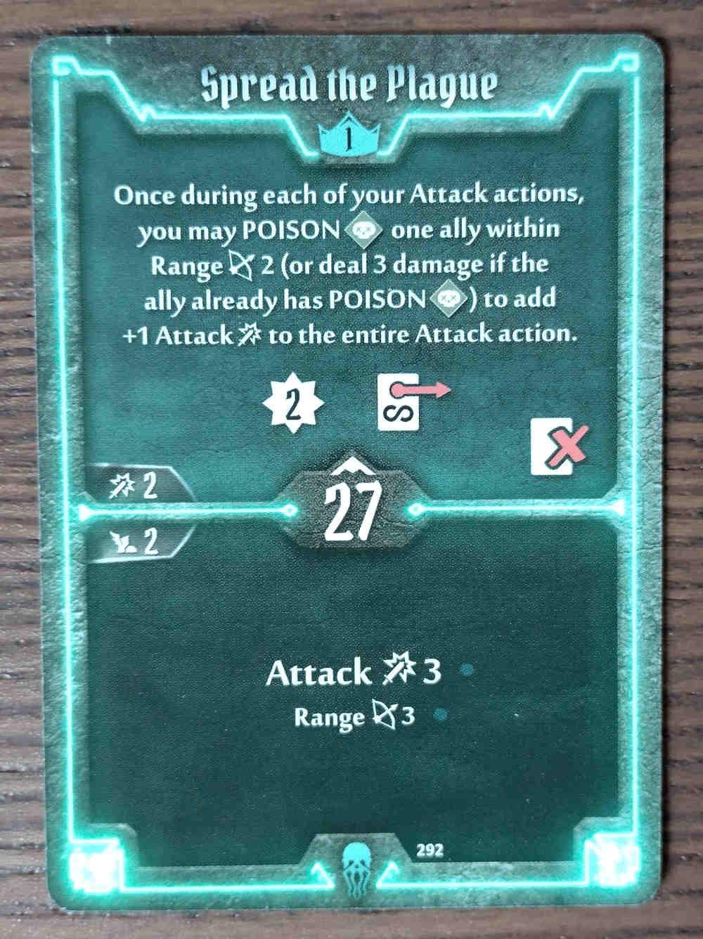 Level 1 Plagueherald card Spread the Plague