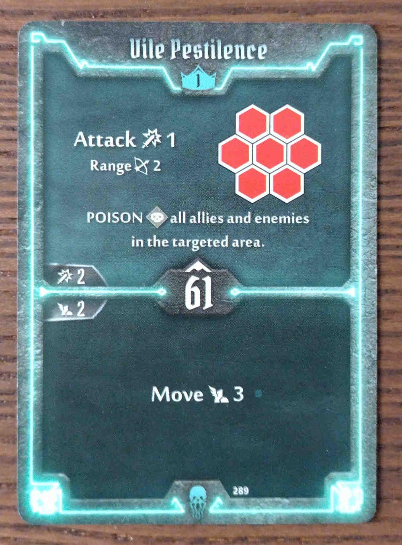Level 1 Plagueherald card Vile Pestilence