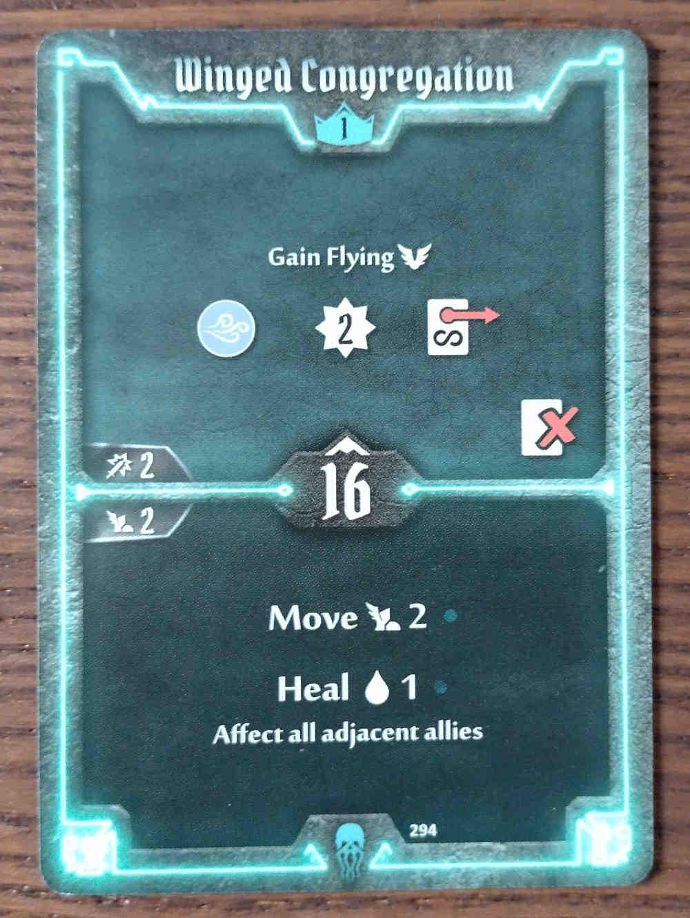 Level 1 Plagueherald card Winged Congregation