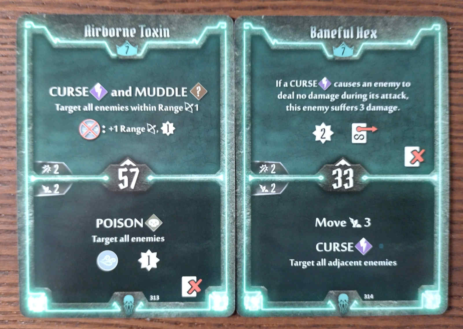 Level 7 Plagueherald cards - Airborne Toxin and Baneful Hex