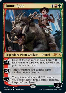Domi Rade MTG card. Image: Wizards of the Coast.