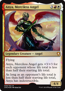 MtG card Anya, Merciless Angel. Image: Wizards of the Coast.
