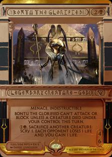 MtG card Bontu the Glorified. Image: Wizards of the Coast.