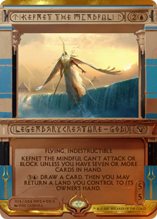 MtG card Kefnet the Mindful. Image: Wizards of the Coast.