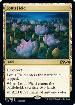 MtG card Lotus Field. Image: Wizards of the Coast.