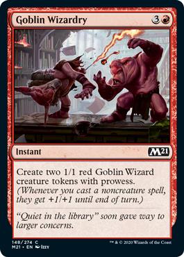 MTG card Goblin Wizardry. Image: Wizards of the Coast