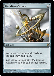MtG card Vedalken Orrery. Image: Wizards of the Coast.