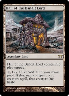 MtG card Hall of the Bandit Lord. Image: Wizards of the Coast.