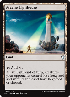 MTG card Arcane Lighthouse. Image: Wizards of the Coast.