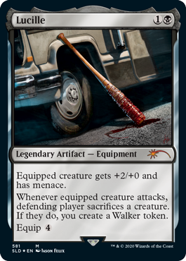 MTG card Lucille. Image: Wizards of the Coast.