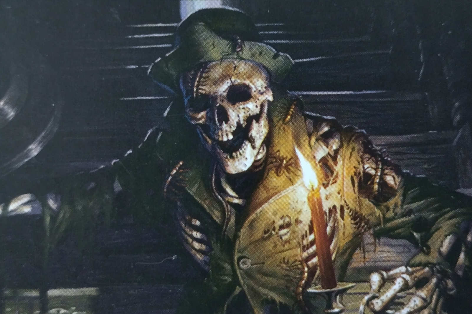 mtg card manor skeleton image wizards of the ocast. Artist Eric Deschamps