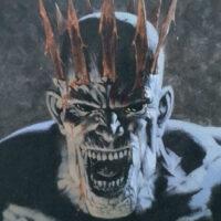 MTG Oblivion Crown with flash card illustration. Image: Wizards of the Coast. Artist: Kev Walker.