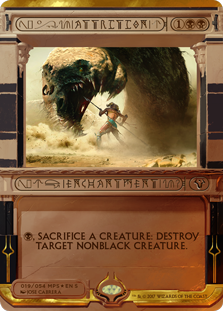 MTG card Attrition. Image: Wizards of the Coast.