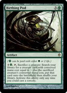 MTG card Birthing Pod. Image: Wizards of the Coast.