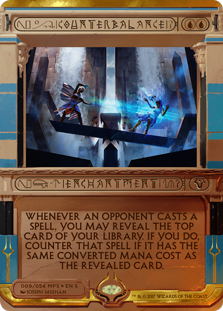 MTG card Counterbalance. Image: Wizards of the Coast.