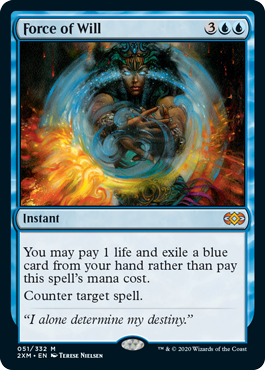 MTG card Force of Will. Image: Wizards of the Coast.