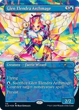 MTG card Glen Elendra Archmage. Image: Wizards of the Coast.