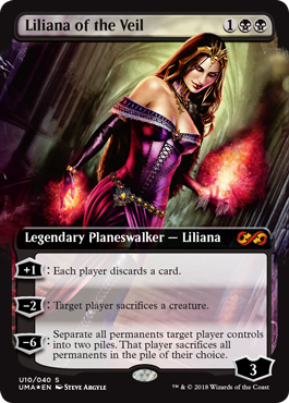 MTG card Liliana of the Veil. Image: Wizards of the Coast.
